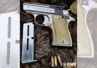 arma de fogo pistola